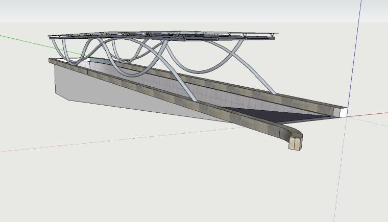 车库入口建筑模型设计(十九)