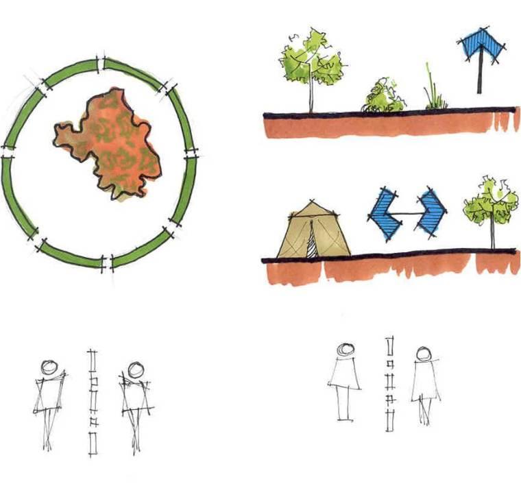 天津大学风景园林考研-分析图画法参考16张