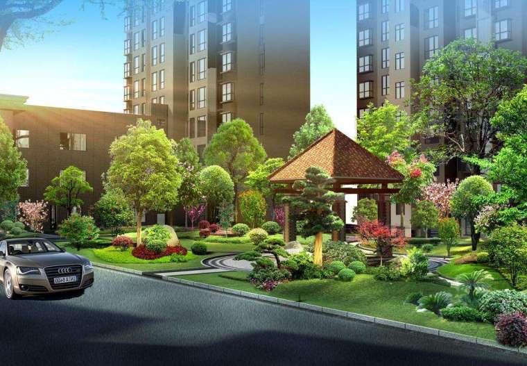 知名地产集团景观设计指引及模块(附多图)