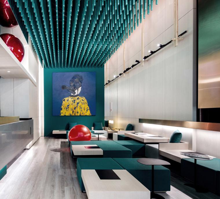 現代簡約的餐廳設計官方攝影+JPG平面