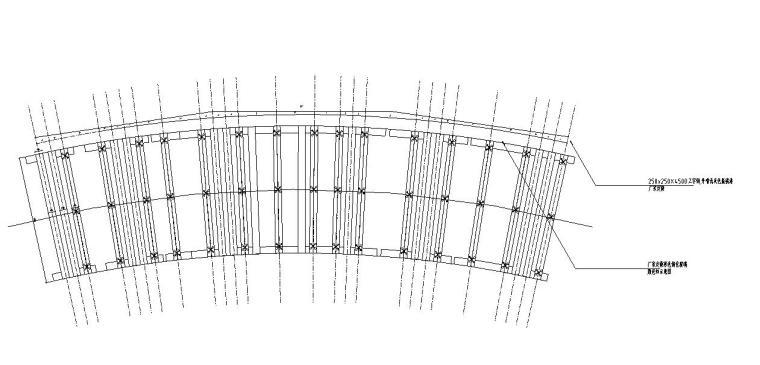 园林景观节点详图 廊架施工图设计十四-园林景观节点详图廊架施工图设计十四 (1)