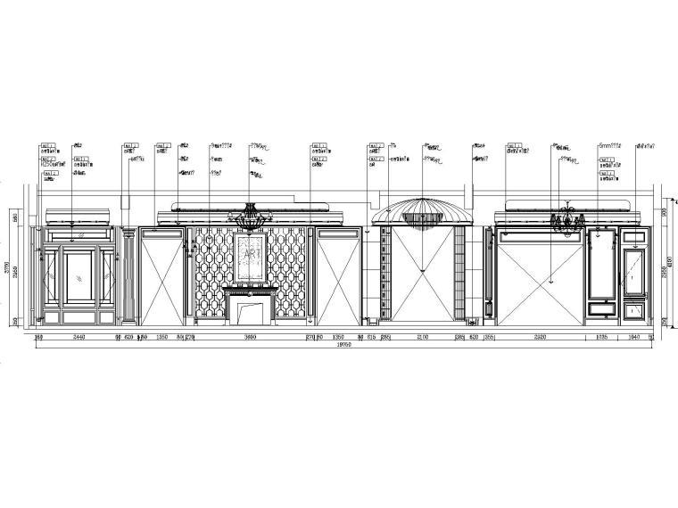 优山美地_别墅样板间_装修设计施工图_别墅效果图_北京墨谷空间装饰设计规划公司