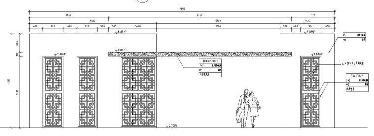 园林景观节点详图|廊架施工图设计十五-园林景观节点详图廊架施工图设计十五 (5)