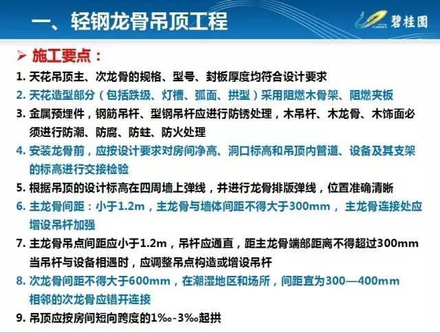 碧桂园住宅装修工程施工工艺和质量标准!_7