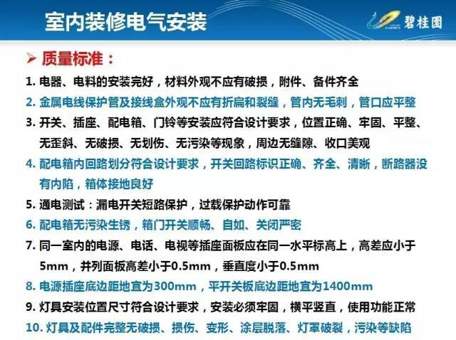 碧桂园住宅装修工程施工工艺和质量标准!_28