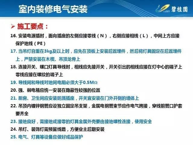 碧桂园住宅装修工程施工工艺和质量标准!_27