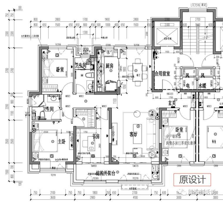 住宅施工图设计阶段,优化空间很大!