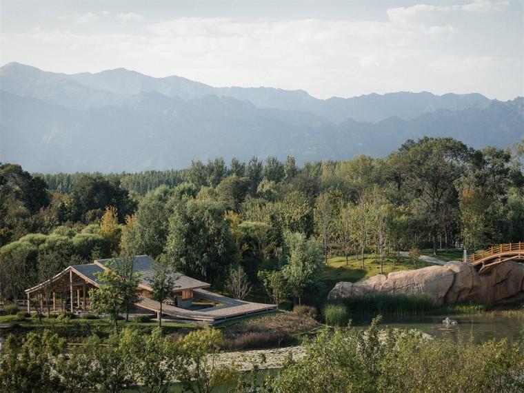 屋面景观塑木资料下载-2019年中国北京世界园艺博览会延波小筑