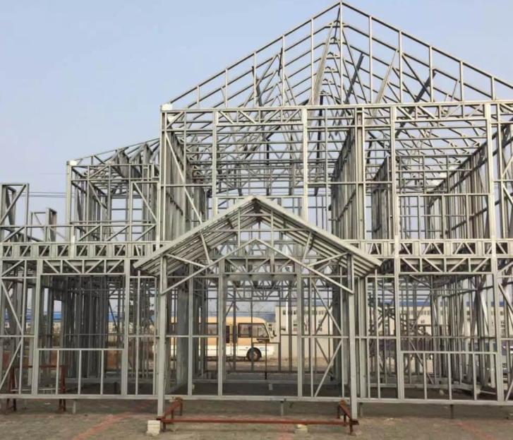 装配式钢框架支撑结构施工组织设计