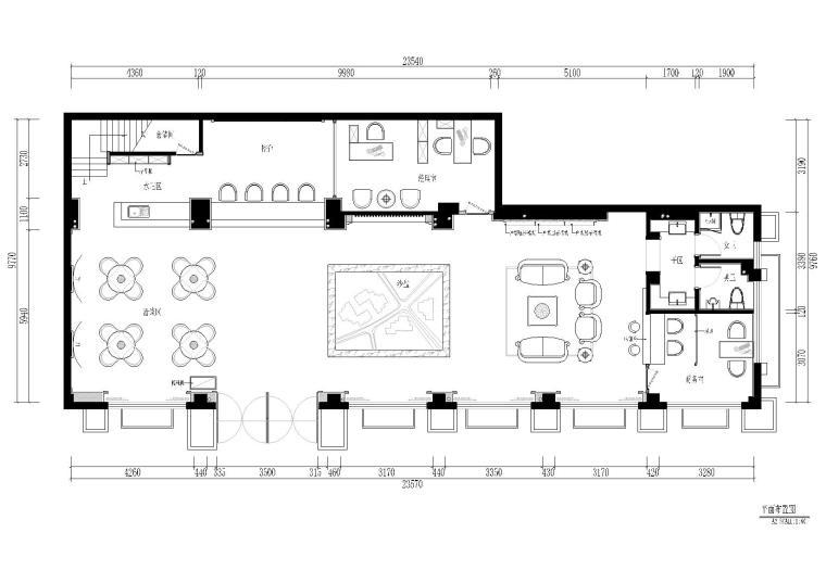 [福建]中茵上城美域售楼部施工图+效果图