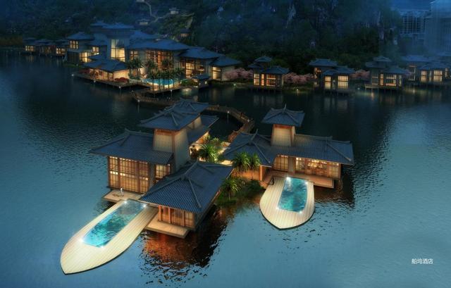 大宸设计:建筑设计安乡在河之洲文化旅游城