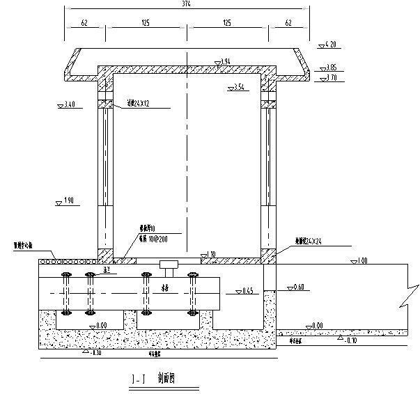 典型水表量水设施设计图