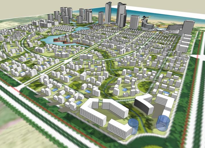 居住小区规划设计调研报告(110页,图文)