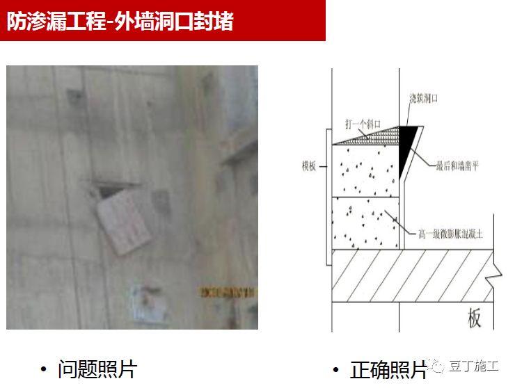 防渗漏工程问题照片及正确做法照片对比_10