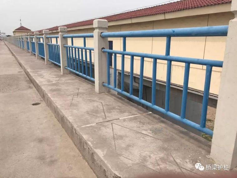 桥梁护栏的结构和分类