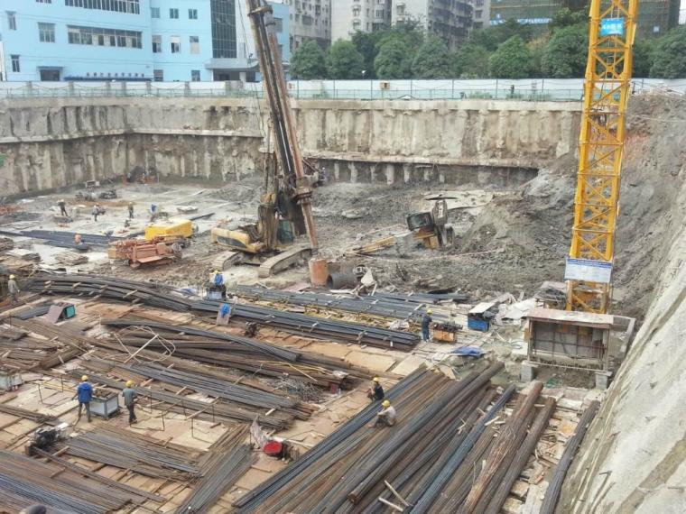 基坑支护及土石方工程招标带图纸、清单