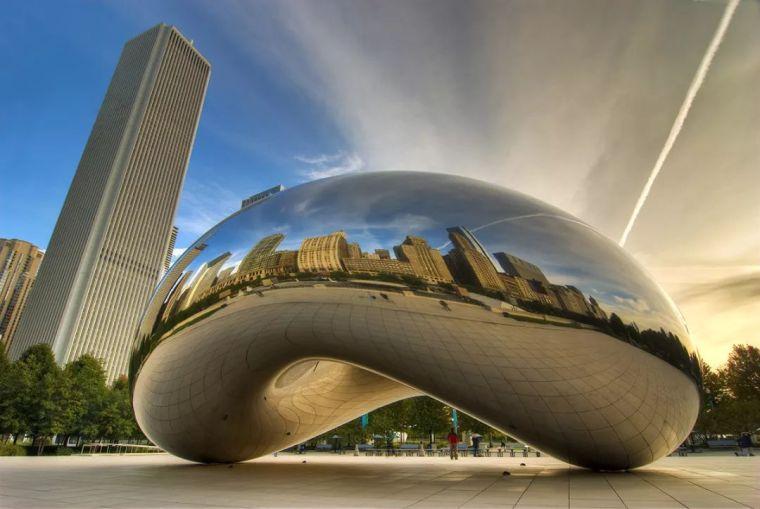 奇妙的建筑表皮—不锈钢