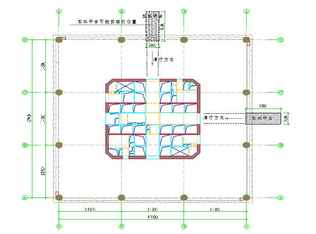 大厦卸料平台施工方案(附图)