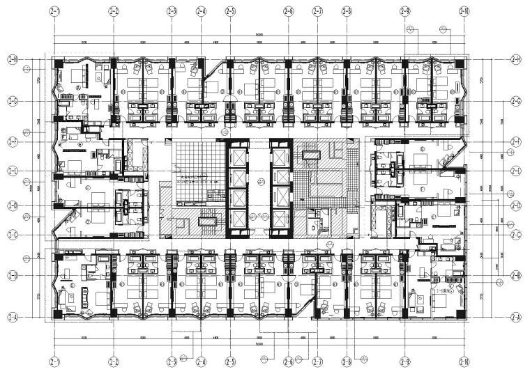 [北京]嘉美中心酒店室内装饰设计项目施工图