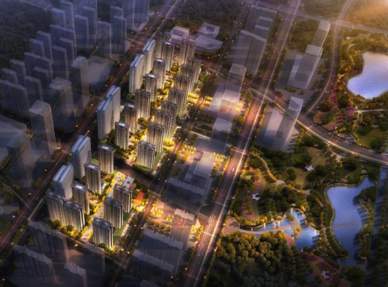 [云南]现代风格商住高层住宅建筑设计文本