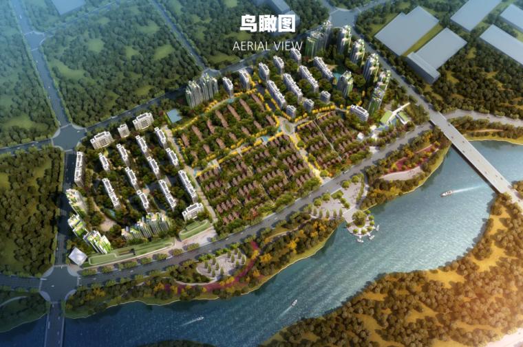 [四川]高层+洋房+联排+合院住宅建筑方案