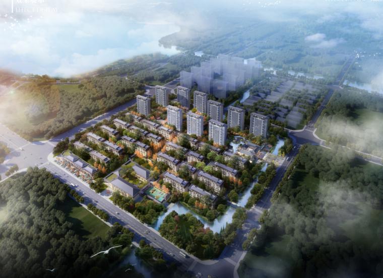 [江苏]中式风格高层叠拼商业配套住宅规划