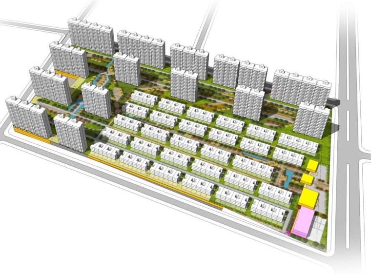 [吉林]高层+洋房+叠拼+别墅住宅方案文本