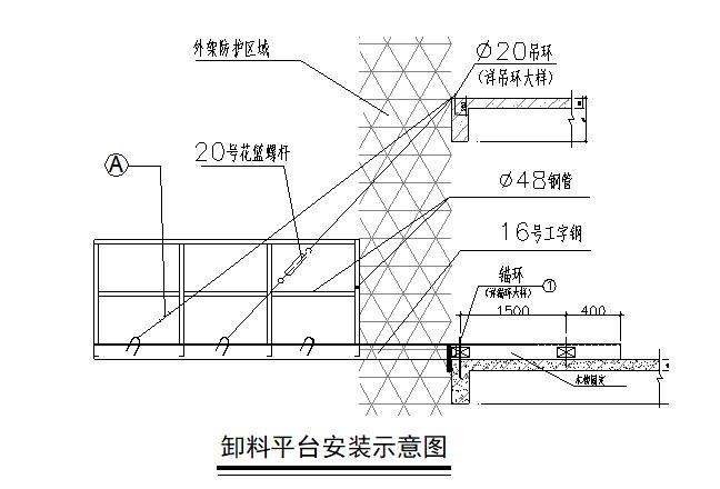 佛山高层建筑悬挑卸料平台施工方案