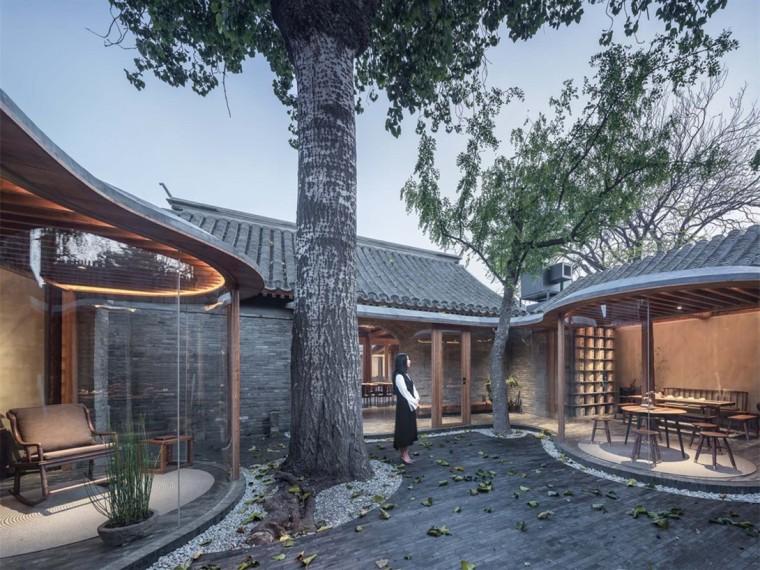 北京七舍合院住宅