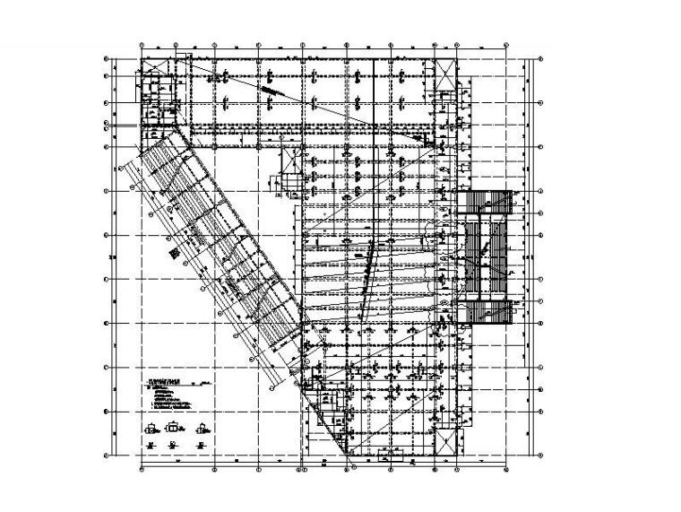 学校全套建筑结构施工图_食堂宿舍教学楼等