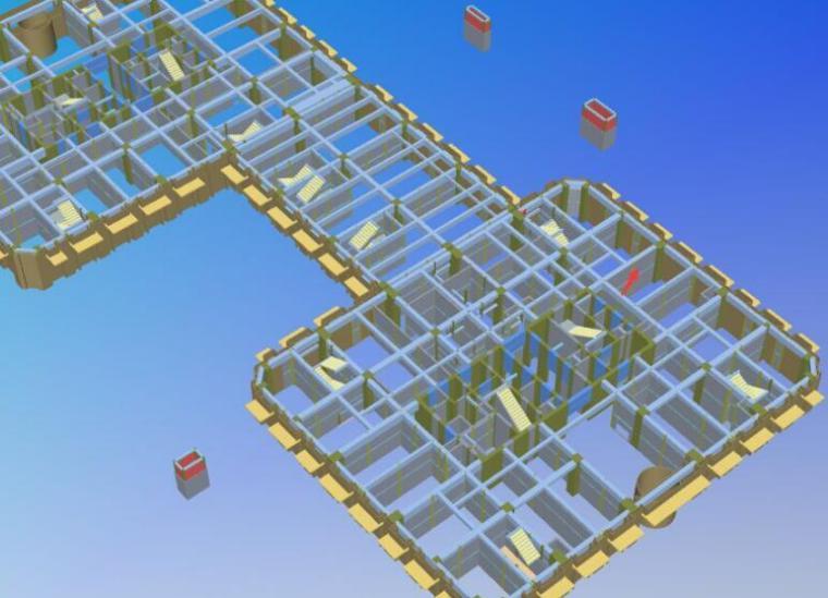 二次结构自动排砖