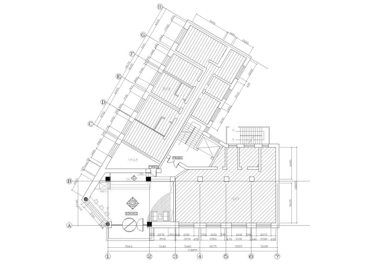 [黑龙江]汉庭快捷酒店哈尔滨远东宾馆施工图