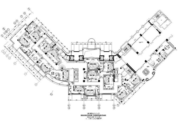 杭州外资五星级度假酒店室内装饰设计施工图