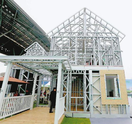 钢框架装配式与框架结构传统建筑成本对比