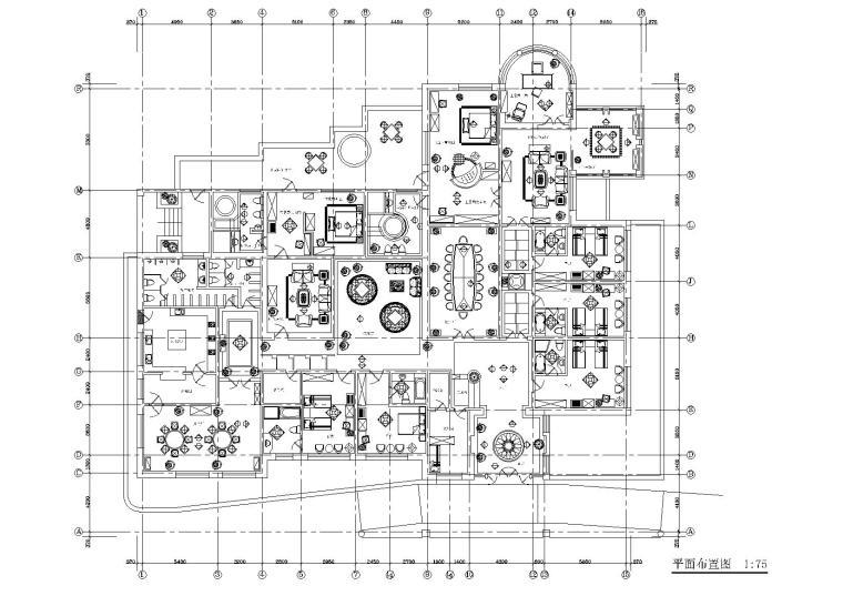 某酒店室内装饰设计项目施工图