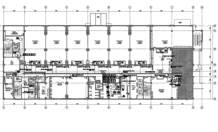 山东商业综合体配套连锁酒店电气施工图