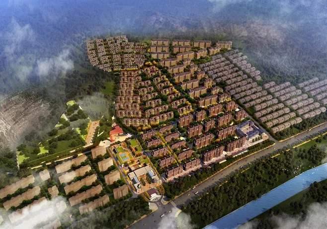 知名地产小区规划强度排列分析案例
