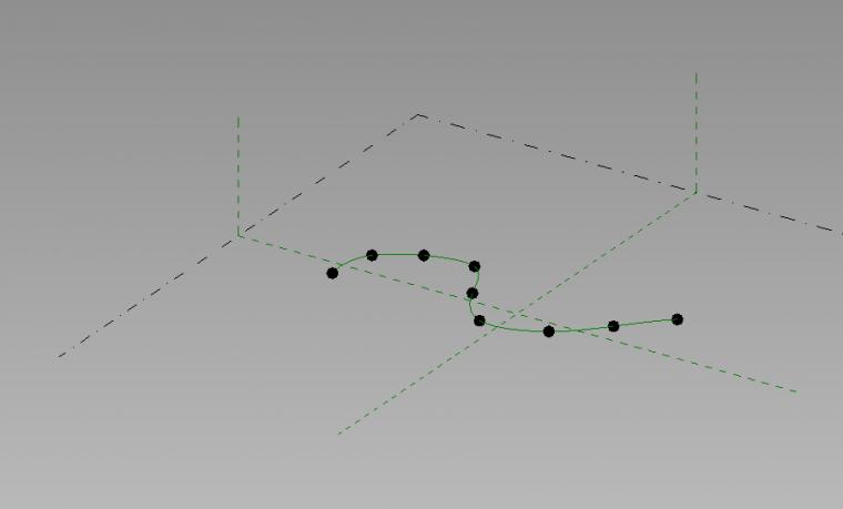 Revit中制作螺旋线的方法_6