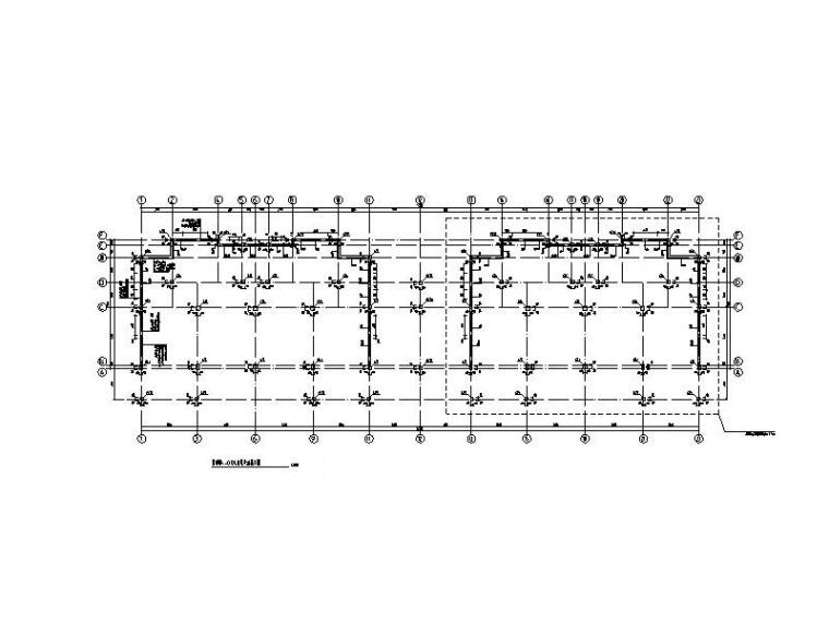 [衡阳]3层钢混框架结构别墅结构施工图2016