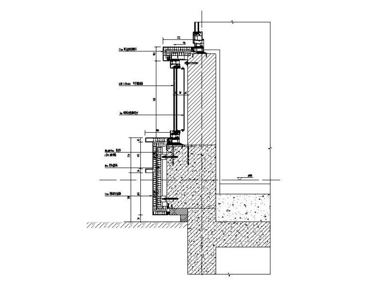 高层剪力墙住宅项目-门窗幕墙招标图纸2017-幕墙节点图
