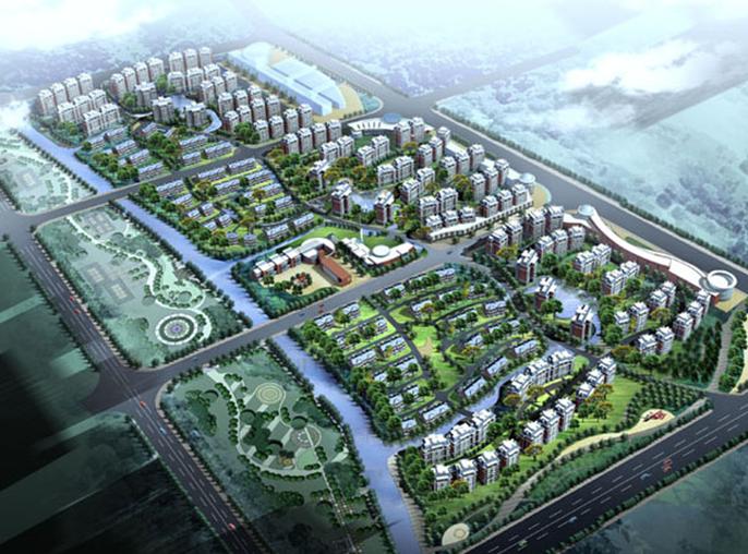 住宅区规划结构及案例分析(图文)