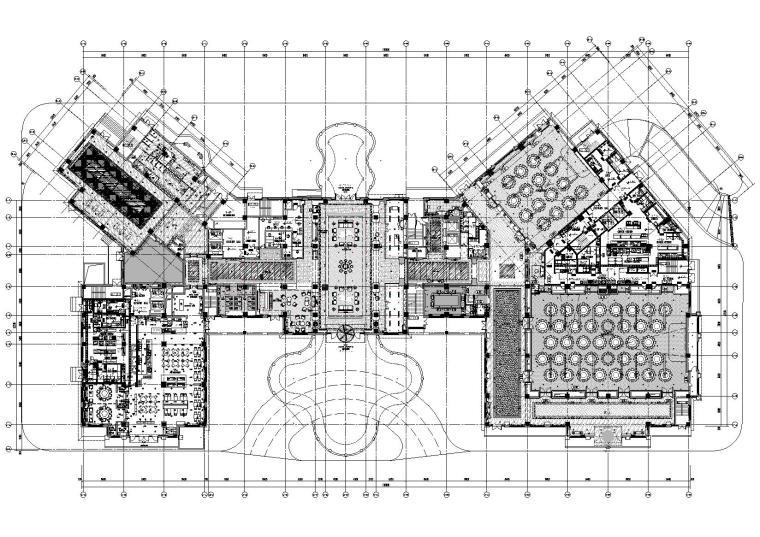 [南昌]玫瑰城艾溪湖酒店室内装修工程施工图