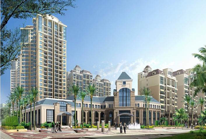 高层住宅建筑立面设计(PPT,图文)