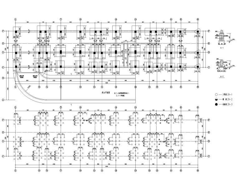 某12层高层公寓混凝土结构施工图(CAD)