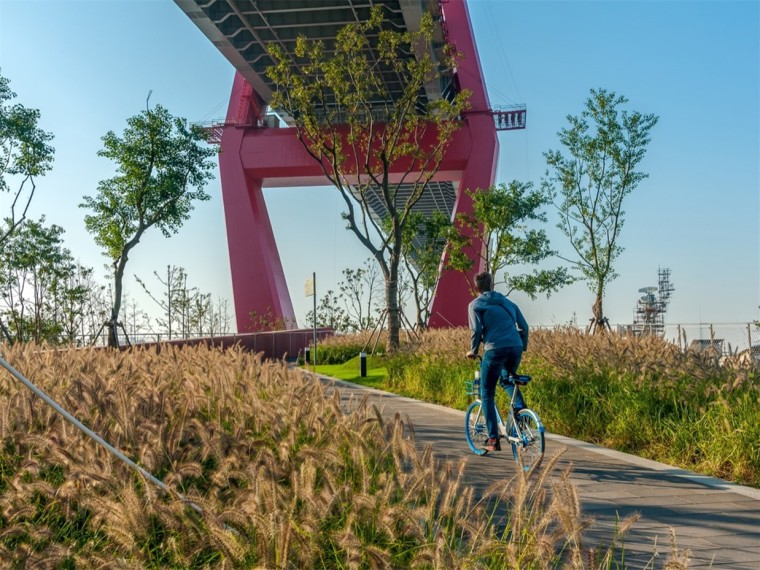 上海杨浦大桥公园