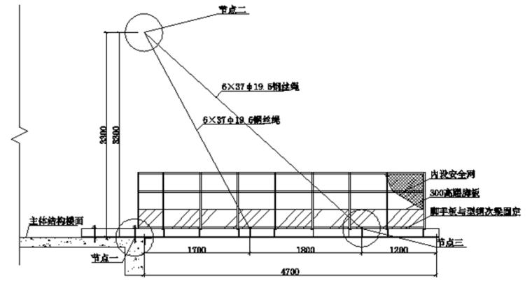 超高层建筑外脚手架施工方案
