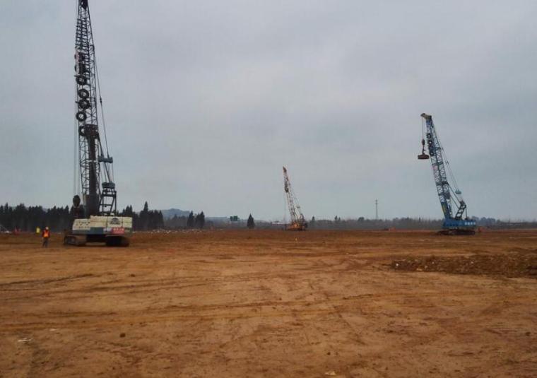 工厂搬迁和扩建项目填土工程地勘报告