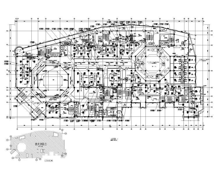 汉中兴元生态旅游示范区汉街项目暖通施工图