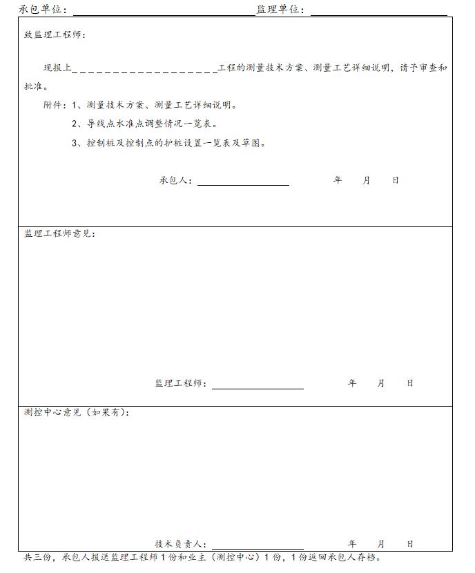 [上海]建筑工程监理质量管理表格