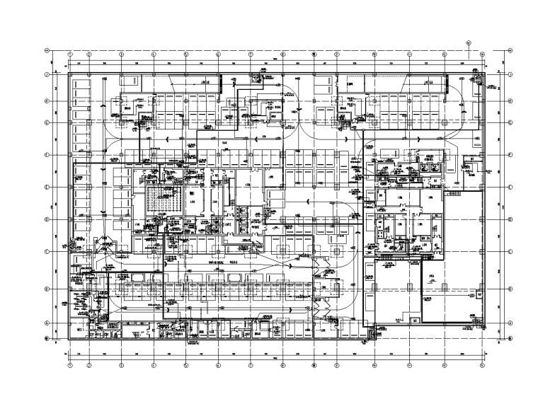 北京商业中心电气施工图